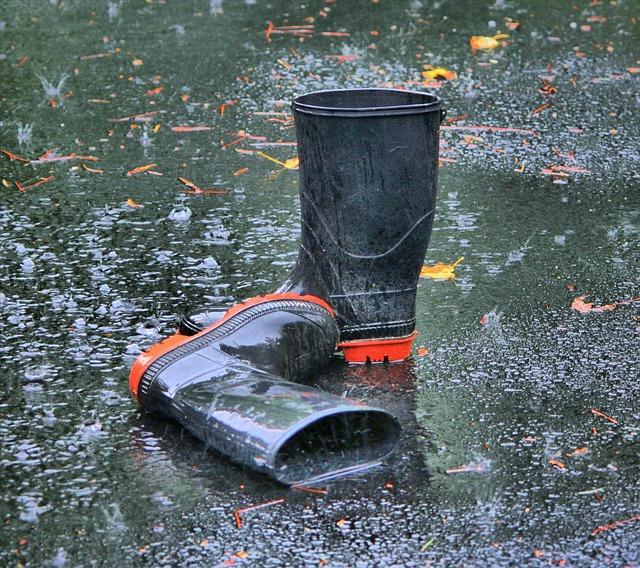 Pourquoi les bottes de pluie ont déjà été la meilleure invention au monde!